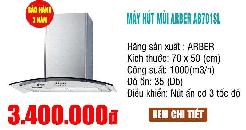 máy hút mùi Arber AB 701SL