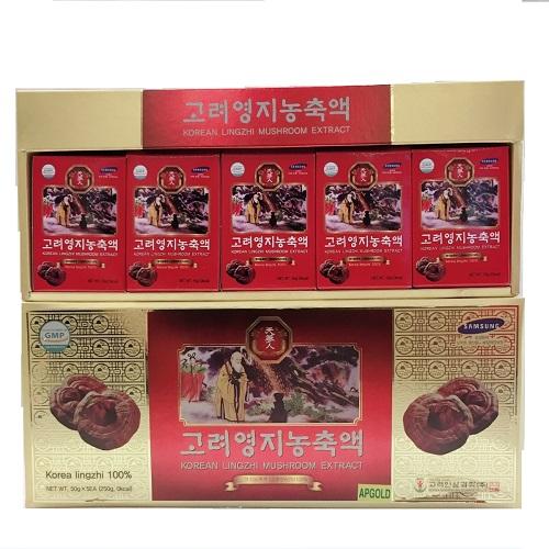 Cao Linh chi đỏ 50g x 5 lọ
