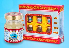 Nước yến Sanest Collagen 70ml hộp 6 lọ - 770H6
