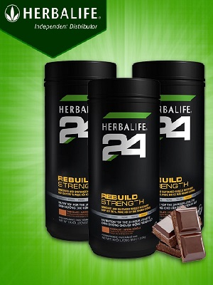 Herbalife 24 Rebuild Strength giúp phục hồi cơ bắp H027
