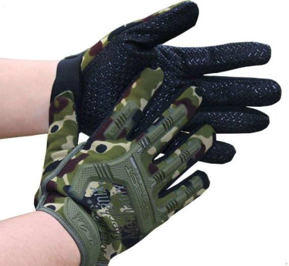Găng tay chiến thuật phong cách ngụy trang mpact dài ( mẫu 2)