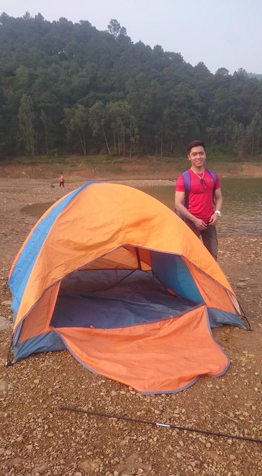 Lều trại 4 Người Cao Cấp 2 lớp chống mưa chống thấm hàng chính hãng phân phối độc quyền