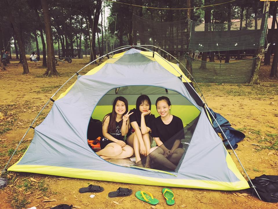 Lều trại cao cấp OUTWELL TETRAGON teragon 8 6 người 2 lớp chống mưa chống thấm hàng chính hãng bảo hành 2 năm