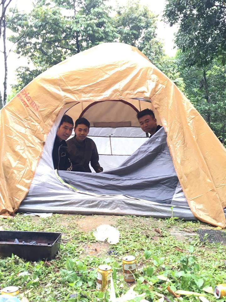 Lều cắm trại dã ngoại cho 12 Người 2 lớp chống thấm nước tốt hàng chính hãng độc quyền phân phối và sản xuất