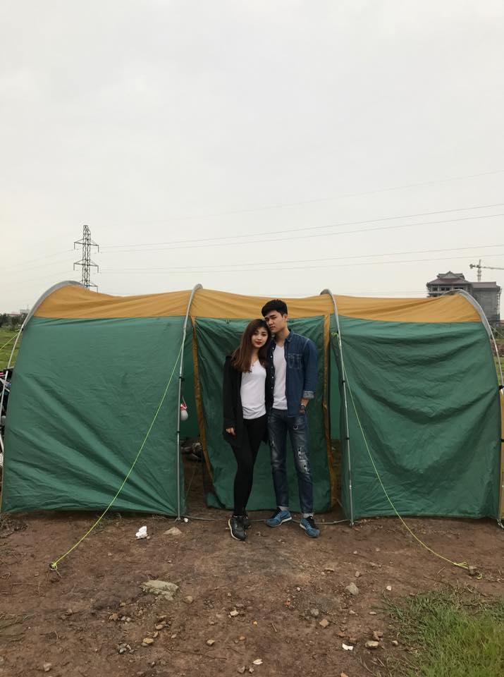 Lều cắm trại picnic cho 20 người 2 lớp chống thấm tốt chống côn trùng chống rét