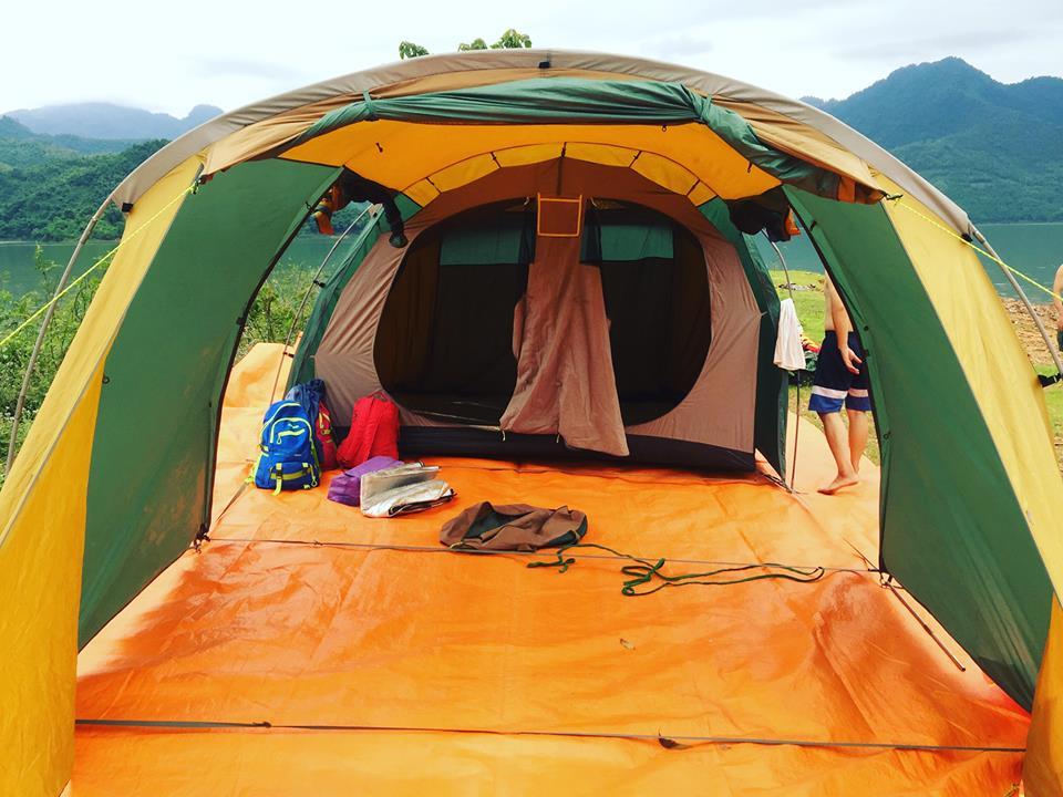 Dịch vụ dựng và dỡ lều trại setup lều trại sự kiện