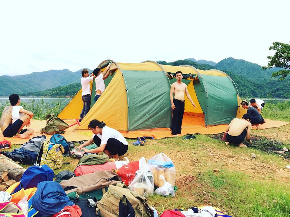 Thuê Lều 18 người