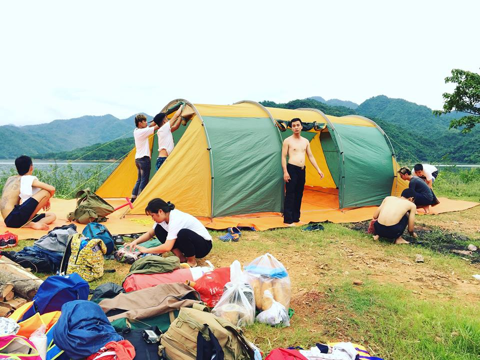 Thuê Lều 16 người