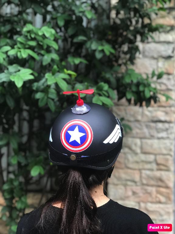 (FREE SHIP) Mũ bảo hiểm 1/2 BATMAN+KÍNH PHI CÔNG+CHONG CHÓNG