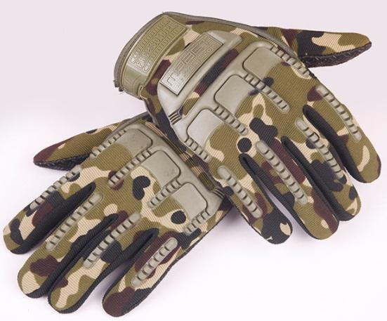 Găng tay phong cách ngụy trang mpact dài ( mẫu 1)