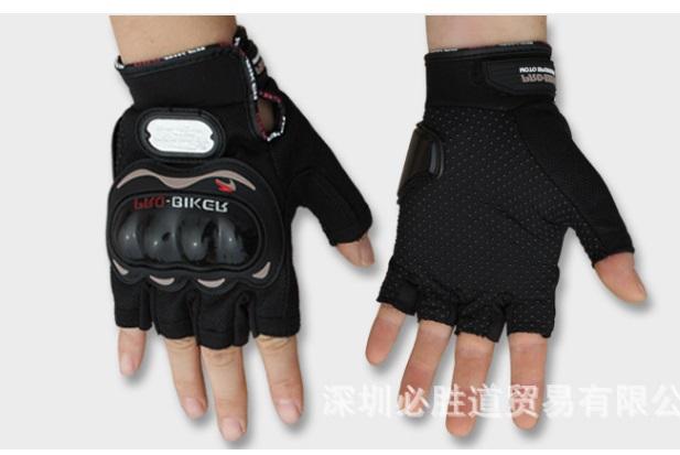 Găng tay gù nhựa cụt probike màu đỏ (Hàng chính hãng)