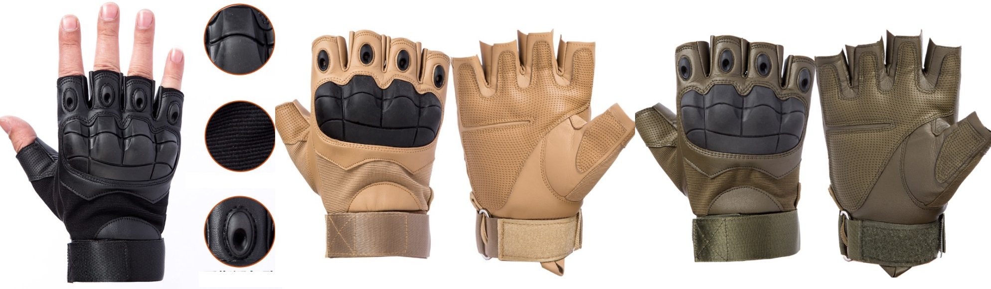 Găng tay Oakley cụt mẫu 2