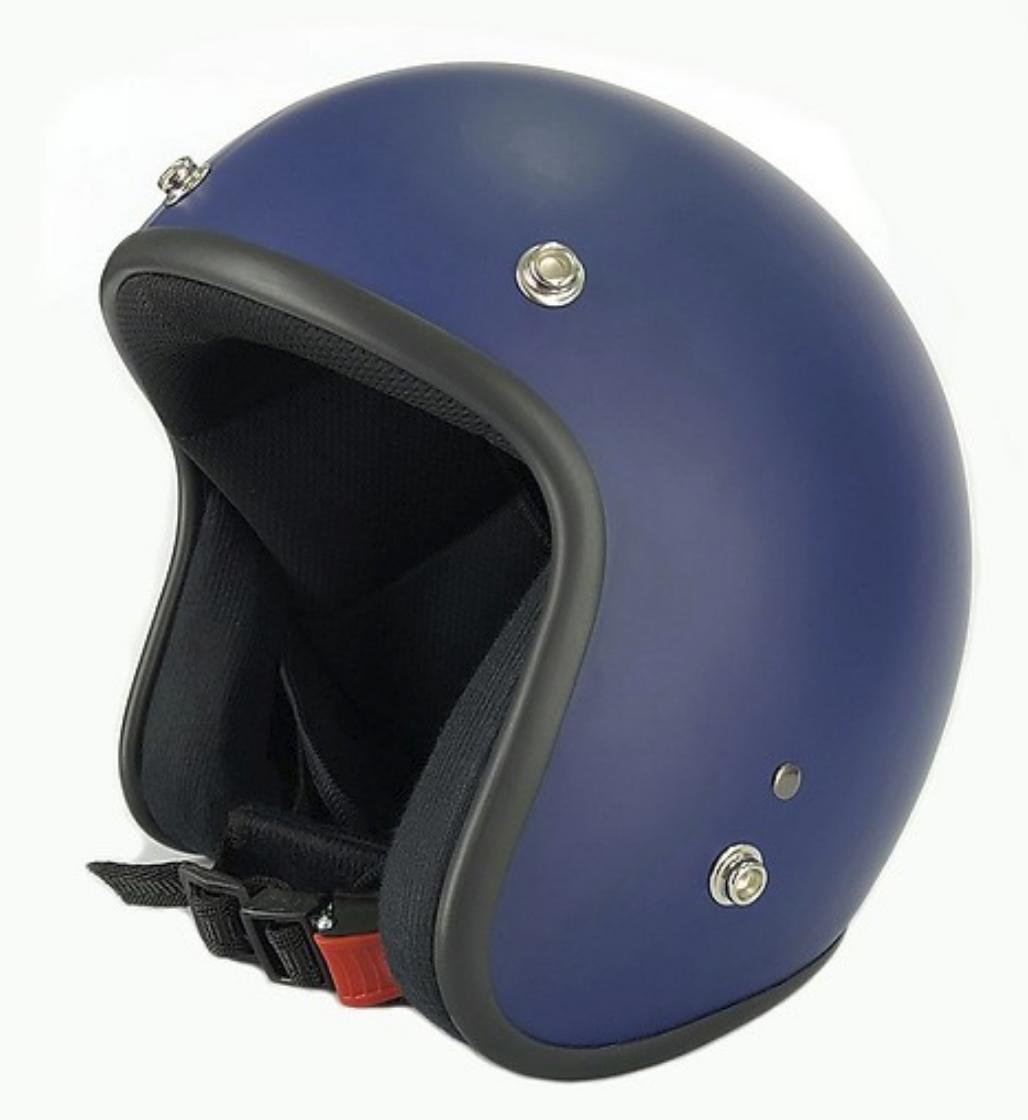 Mũ bảo hiểm 3/4 đầu chuyên phượt xanh navy