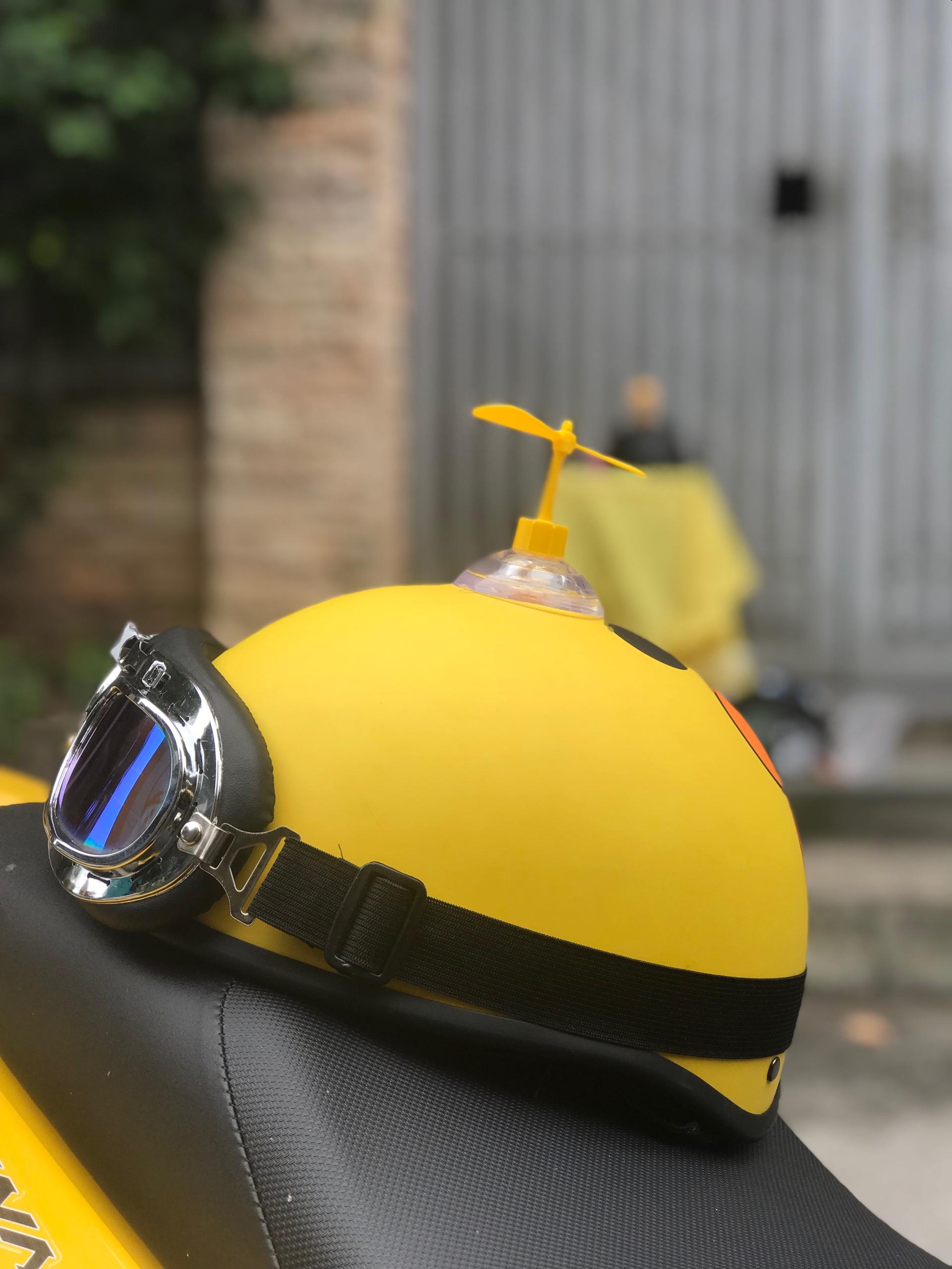 (HOT HIT) Mũ bảo hiểm 1/2 TOTORO HỒNG+KÍNH PHI CÔNG+CHONG CHÓNG