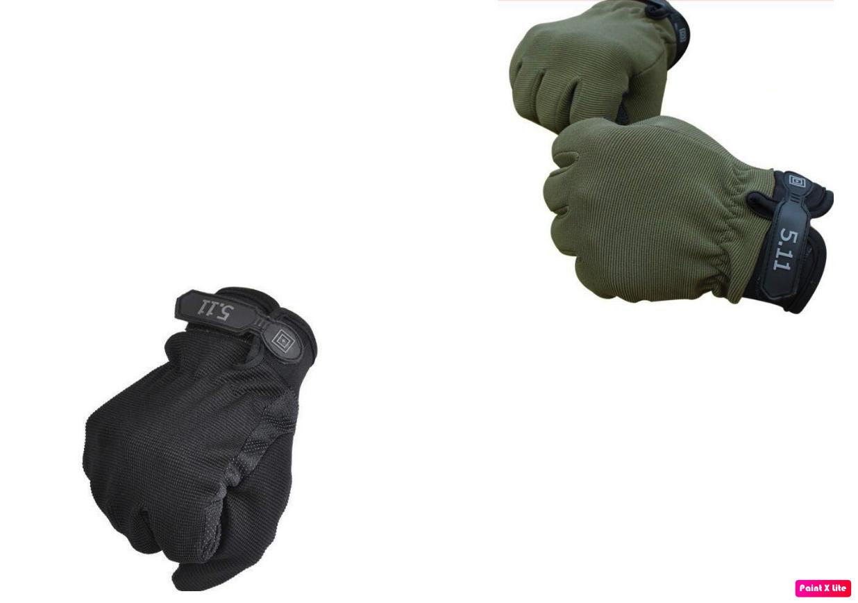 Găng tay 5.11 dài ngón ( full ngón) mẫu 2 không gù