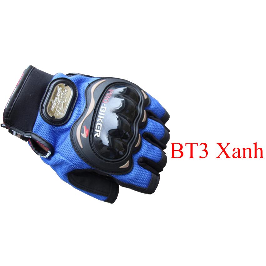 Găng tay gù nhựa cụt probike màu đen (Hàng chính hãng)