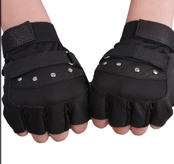 Găng tay da thời trang mẫu 3 ( 4 đinh tán) giá rẻ nhất cho fashionista