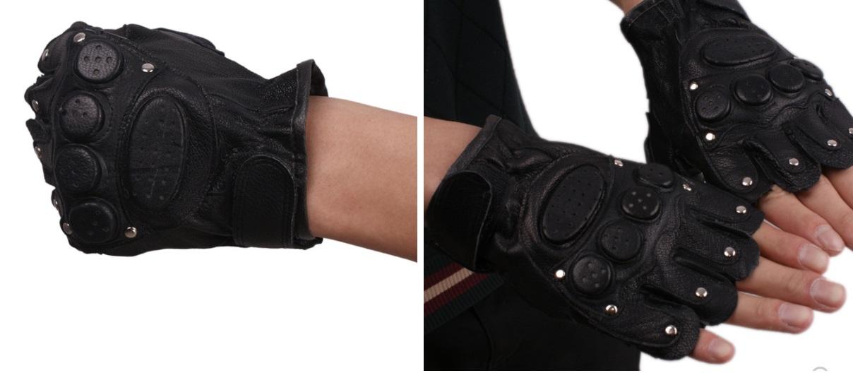 Găng tay da thời trang mẫu 5 ( 8 đinh tán) giá rẻ nhất cho fashionista