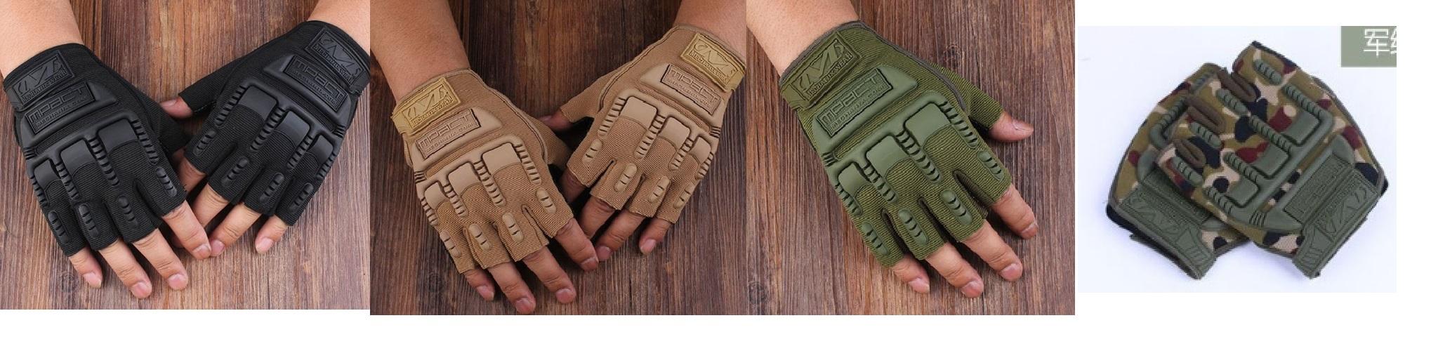 Găng tay mpact cụt ( mẫu 1)