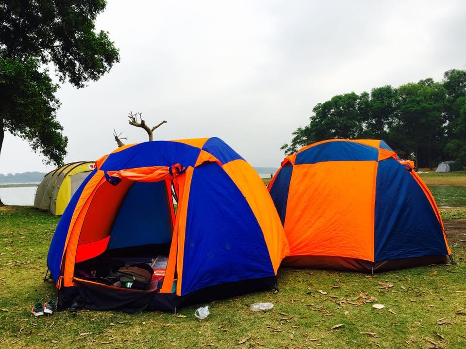 Lều trại 8 Người 2 lớp chống mưa chống thấm hàng chính hãng phân phối độc quyền