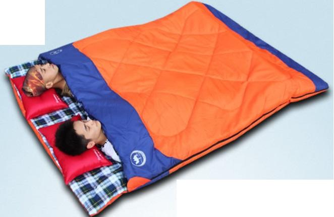 Thuê túi ngủ đôi dành cho 2 người yêu nhau