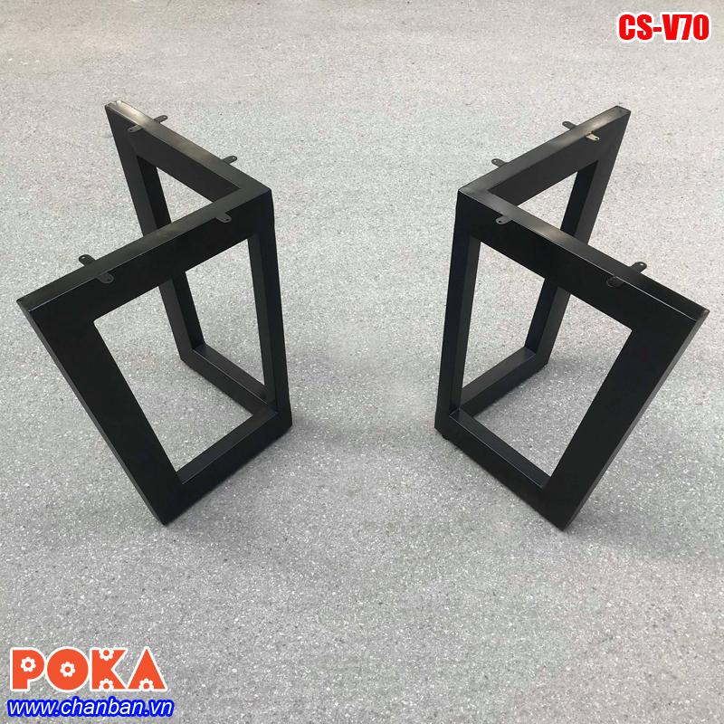 Chân bàn sắt hộp CS-V70
