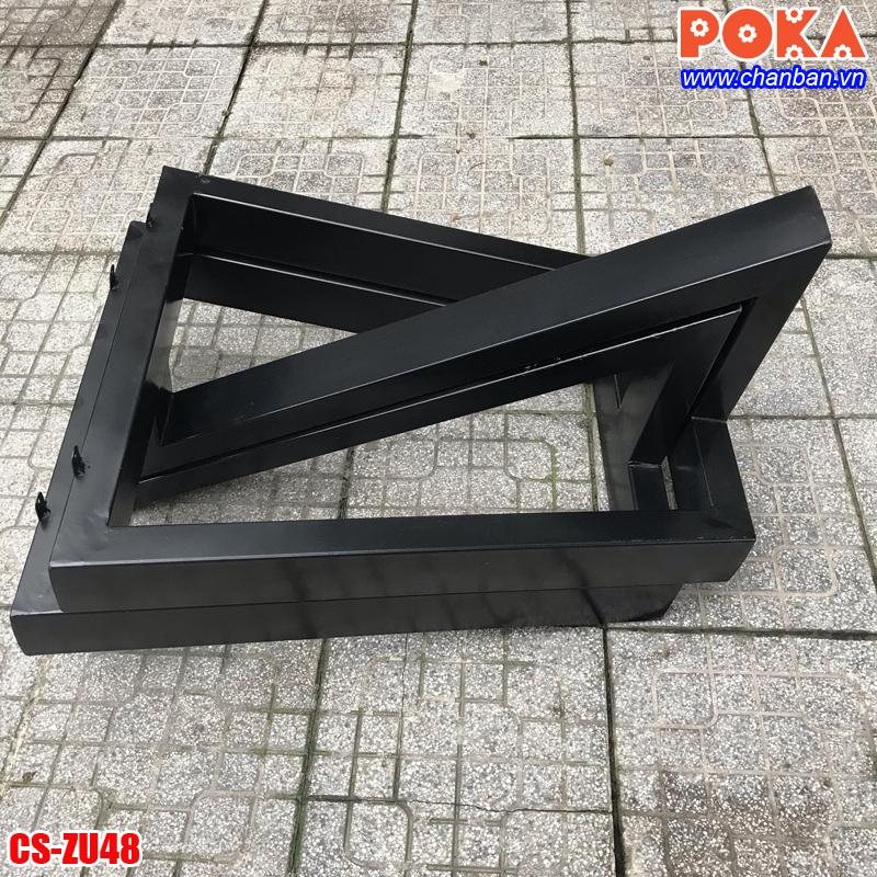 Chân bàn sắt hộp CS-ZU48