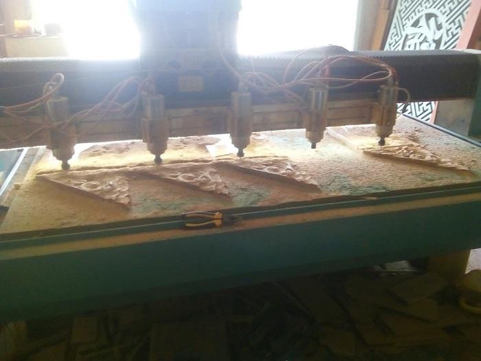 Máy khắc gỗ CNC chính hãng và chất lượng hiện nay đang được cung cấp tại Gia Bảo Tech