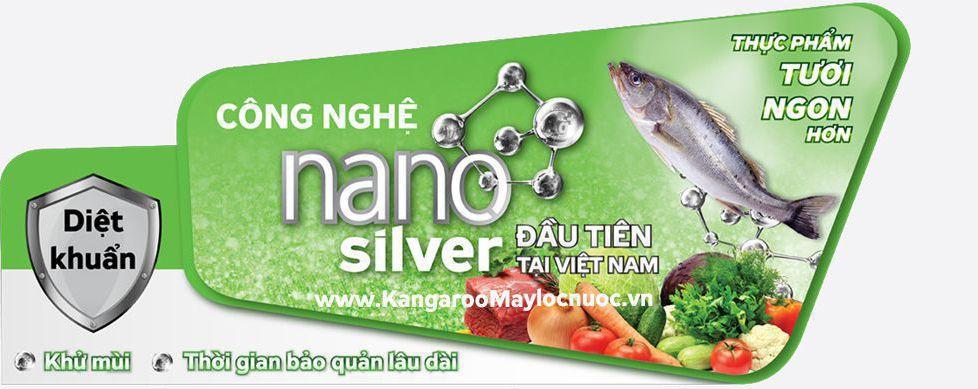 Công nghệ kháng khuẩn Nano bạc trong Tủ đông Kangaroo
