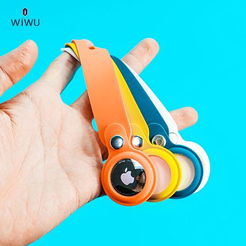Ốp Airtag Wiwu Silicon Loop