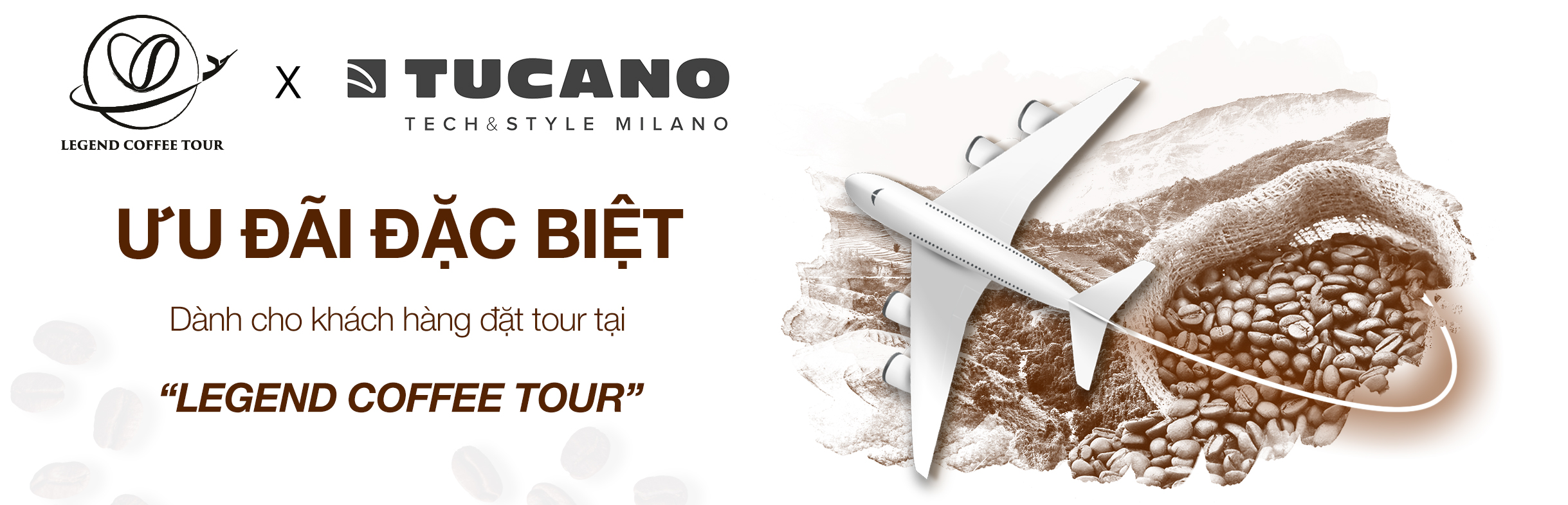TUCANO x LEGEND COFFEE TOUR