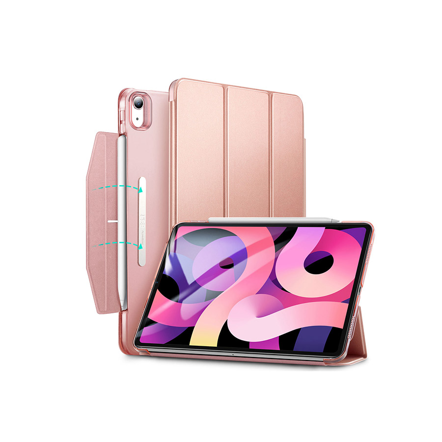 bao da esr ipad air 4 2020 màu Rose Gold