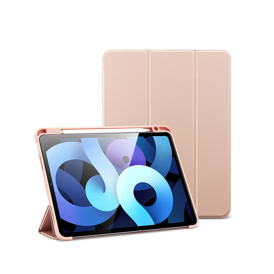 bao da esr rebound pencil for ipad air 4 2020 màu Rose Gold