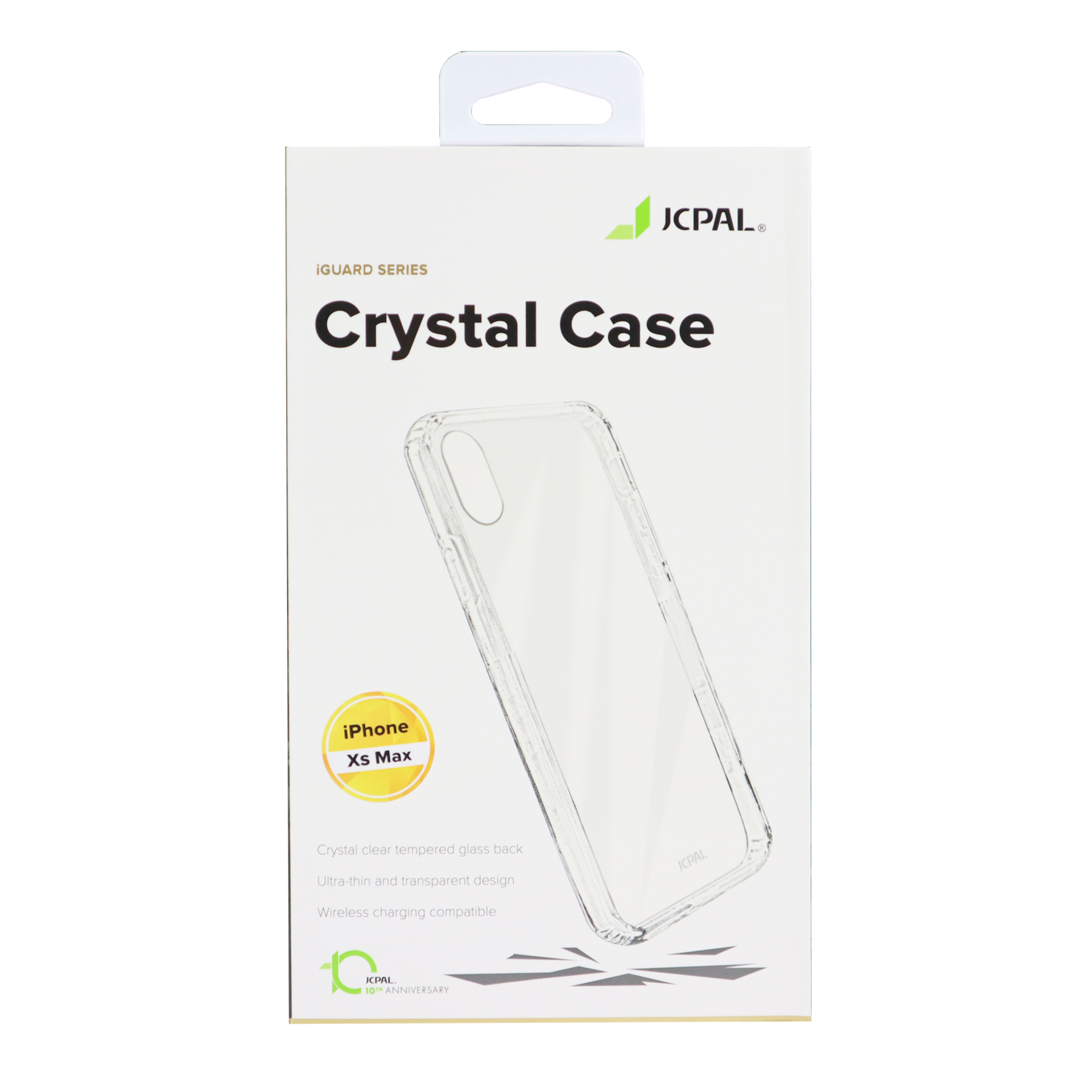 ỐP JCPAL CRYSTAL GLASS IPHONE X SERIES