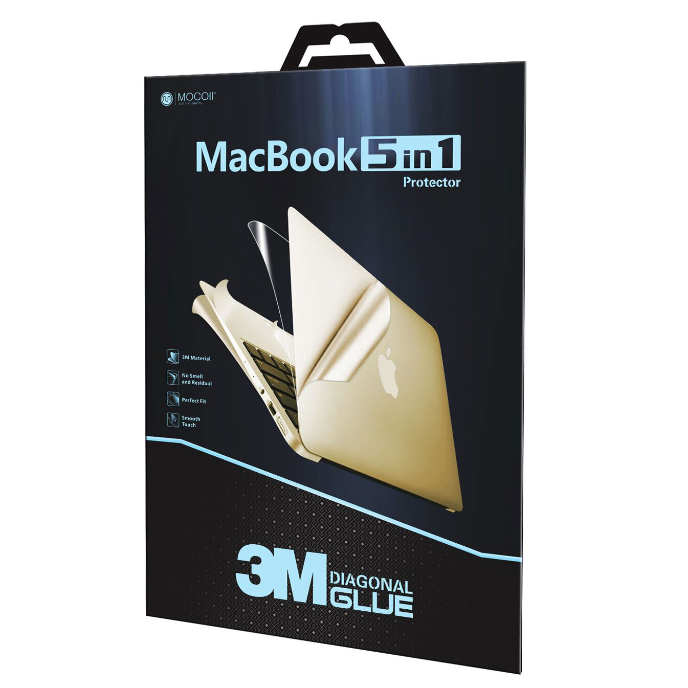 BỘ FULL MOCOLL 5 IN 1 FOR NEW MACBOOK PRO