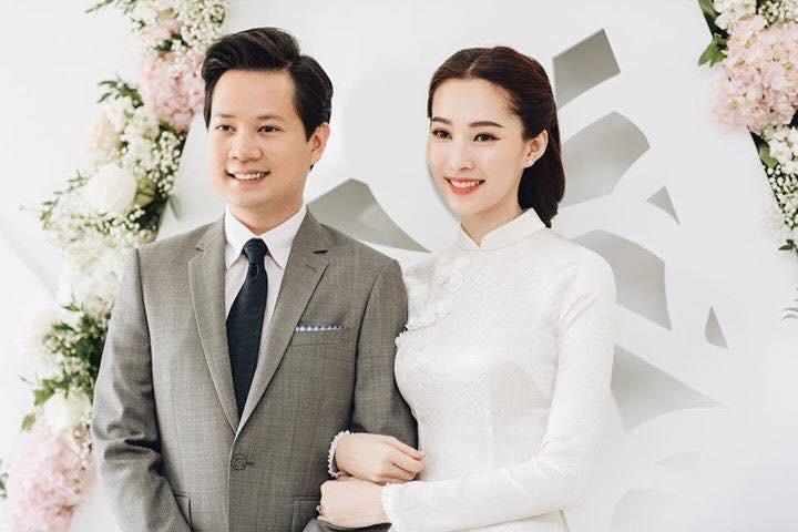 Áo dài trắng đẹp