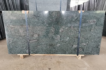 Dark Mossy Green Slabs and Tiles Manufacturing