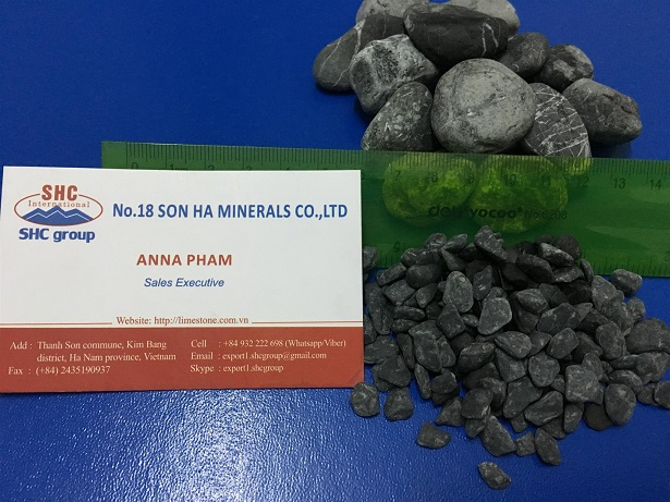 Vietnam Black Pebbles