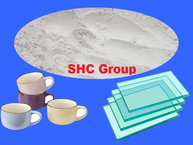 Ground Calcium Carbonate For Ceramic&Glass Industry