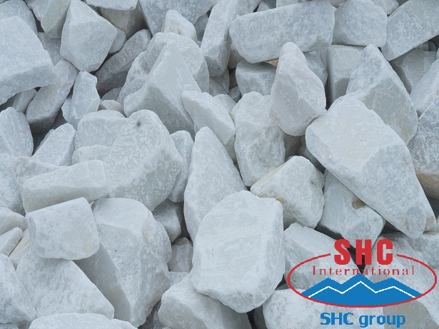 Input Limestone Materials of No.18 Son Ha Minerals Co.,Ltd