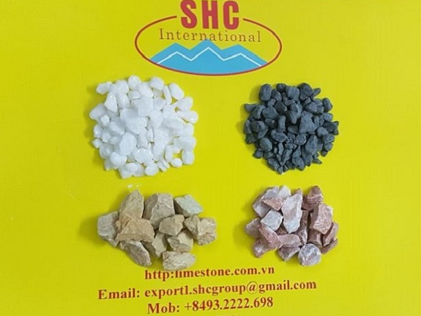 Decorative Colored Crushed Stone Chips