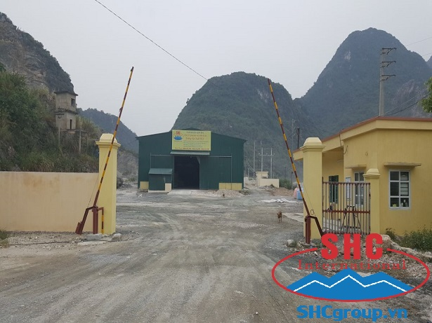 Manufacturing Limestone for Exporting Standard at Factory No.18 Son Ha Minerals Co., Ltd