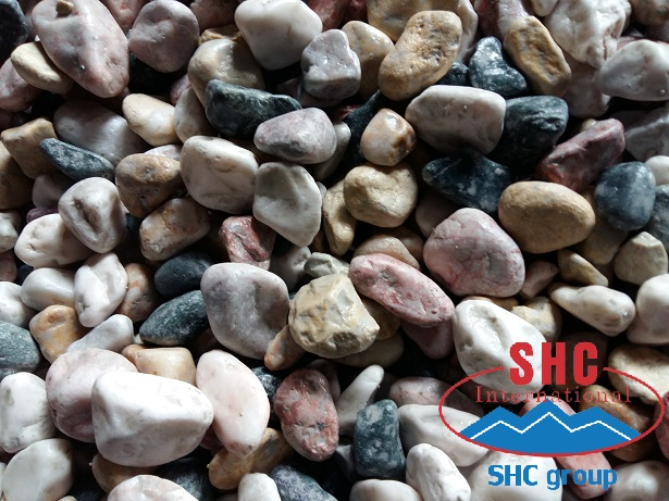 Colorful Pebble Stone For Garden Decoration