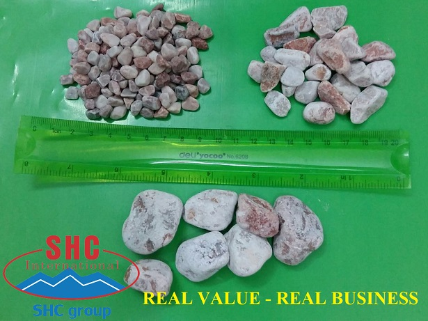 Exporting Pink Pebbles To Asia Market