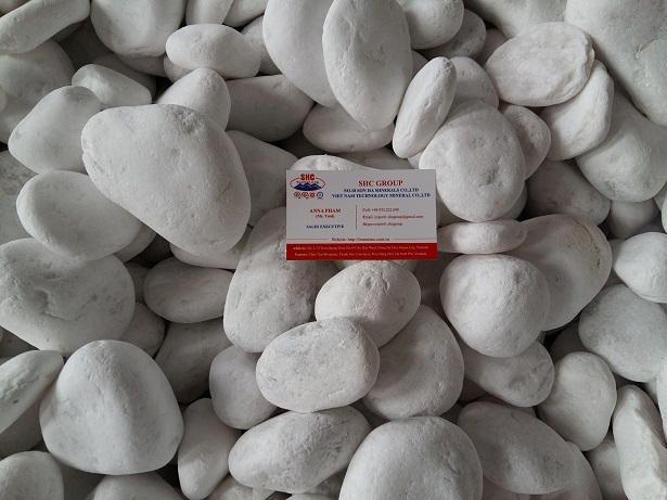 Some Ideas for White Sensation in Garden Landscaping With White Pebbles