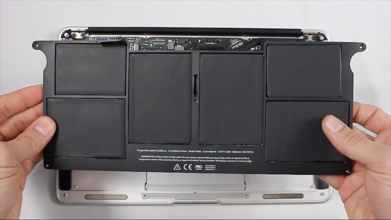 Replace Battery MacBook Air in Da Nang VN