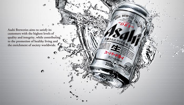 Bia Asahi Super Dry | bia nội địa Nhật Bản