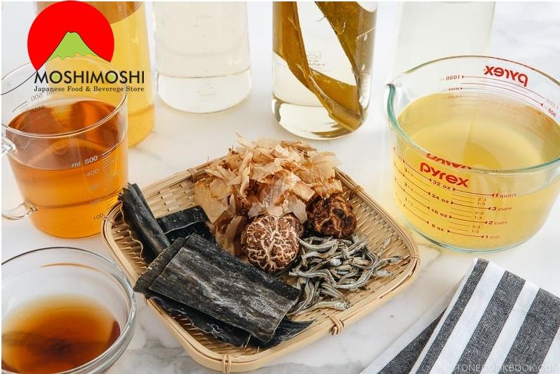 Nguyên liệu nấu nước dùng dashi