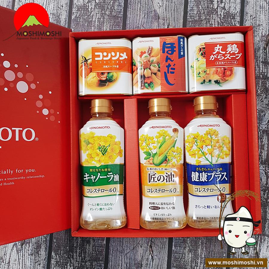 Hộp quà thực dưỡng Ajinomoto