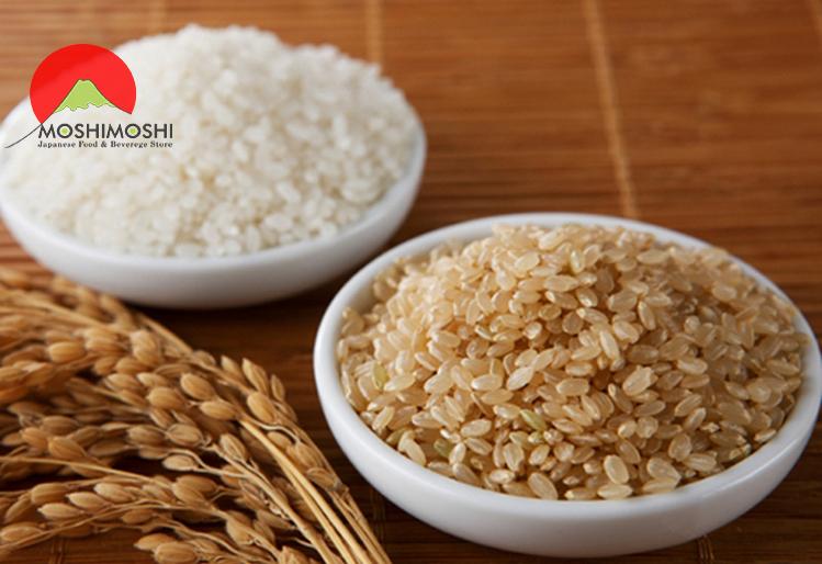 Gạo lứt và gạo trắng